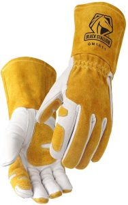 Revco GM1611 Top Grain Leather Cowhide MIG Welding Gloves