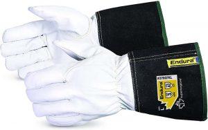 Superior 370GFKLXL Precision Arc Goatskin Leather Welding Gloves